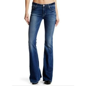 "Hudson Jeans ""Mia 5 Pocket Midrise Flare"""